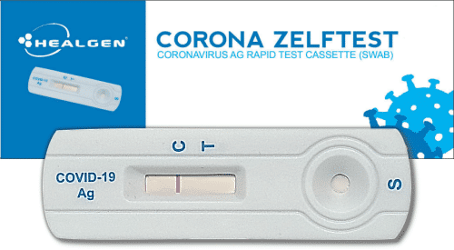 corona-zelftest healgen